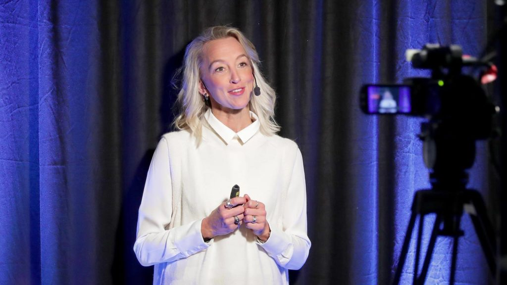 Googles svenska vd Anna Wikland på Chefdagen 2020