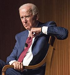 Porträtt av Joe Biden.