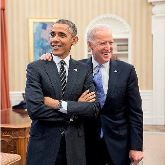 Tillsammans med president Barack Obama i ovala rummet i Vita huset 2015.