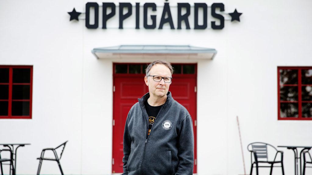 Björn Falkström, vd på Oppigårds Bryggeri