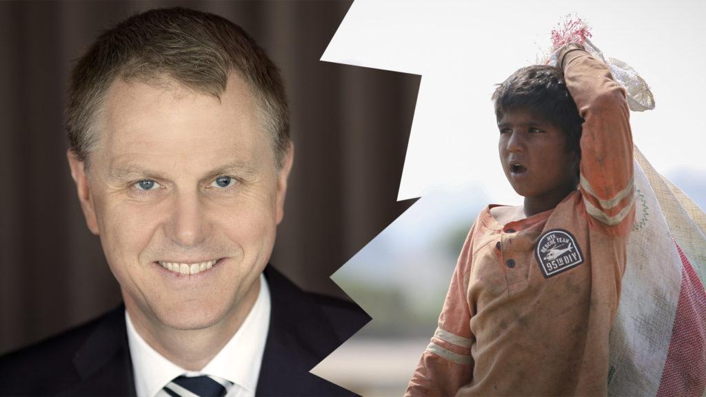 Per Lyrvall, Sverigechef på Stora Enso, berättar om arbetet med att återfå förtroendet efter en barnarbetesskandal hos en underleverantör i Pakistan.