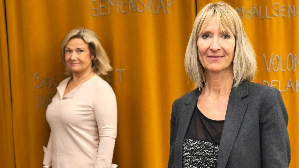 Åsa Paborn är direktor på Stockholms Stadsmission och träffade Cissi Elwin i senaste avsnittet av Chef Dilemma