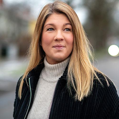 Therese Carlsson, vd på Buttericks, porträttbild