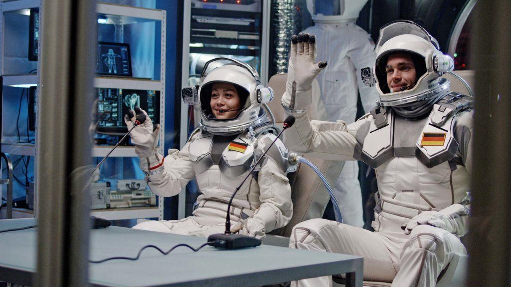 Två astronauter