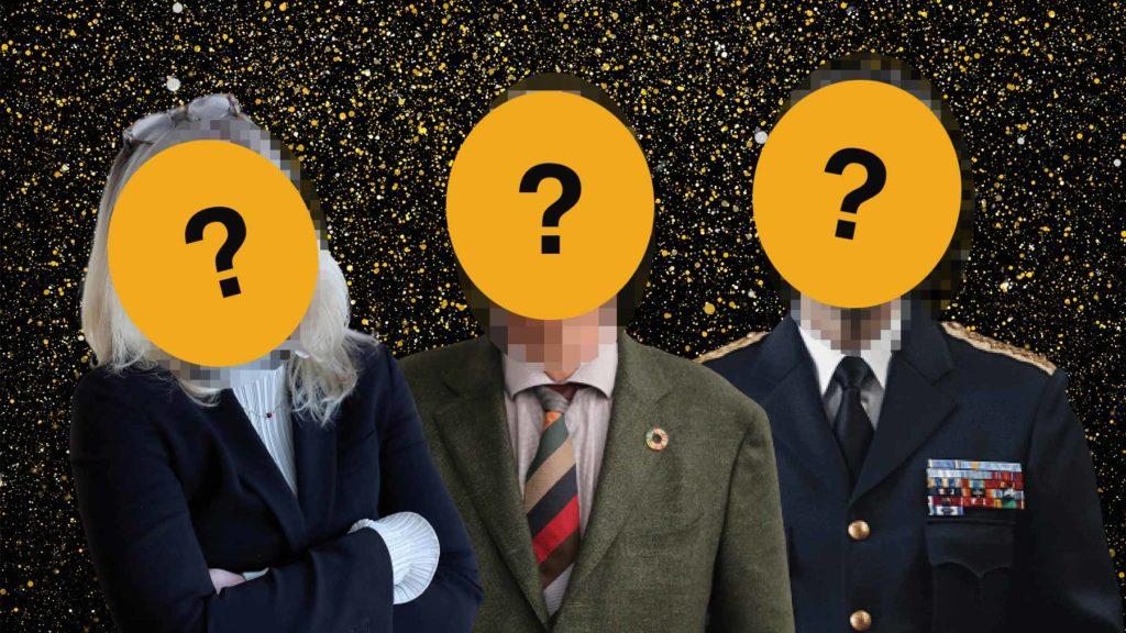 De tre finalisterna till Årets Chef 2021