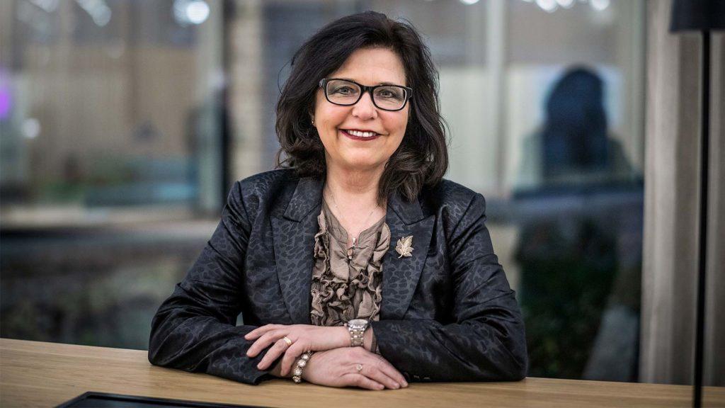 Maria Mindhammar, generaldirektör på Arbetsförmedlingen