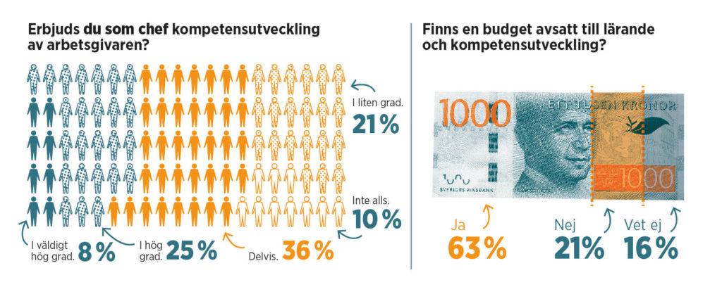 Grafik med statistik om lärande.
