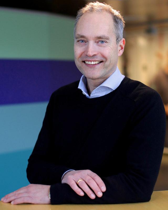 Henrik Nyström, fabrikschef på Atlas Copco Industrial Technique I Tierp. Foto: Karina Ljungdahl