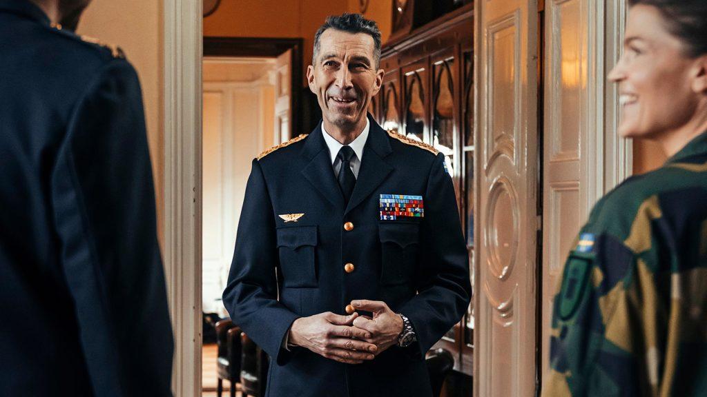Micael Bydén, överbefälhavare på Försvarsmakten, utses till Årets Chef 2021 av tidningen Chef.