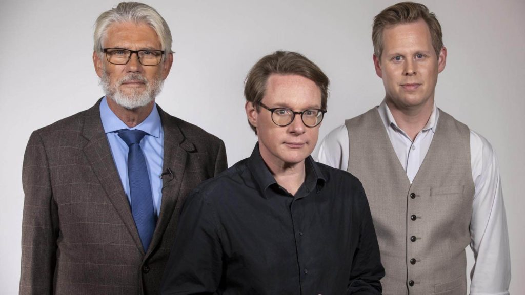Paul Ronge, Mattias Bergman och Andreas Utterström
