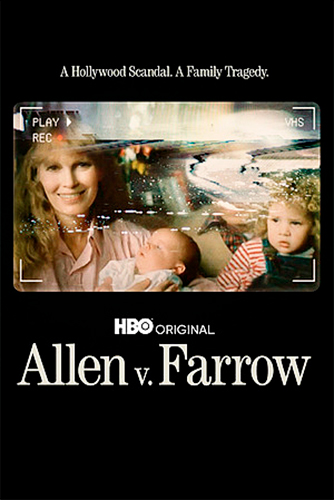 Allen v. Farrow, framsida