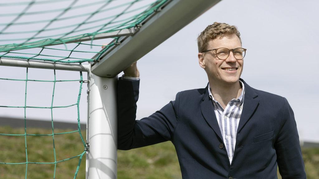 Henning Karlsson på Grade förklarar hur kompetens, engagemang och lärande kan knytas ihop. Foto: Ola Torkelsson