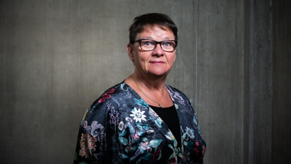 Porträtt av Anne-Marie Eklund-Löwinder