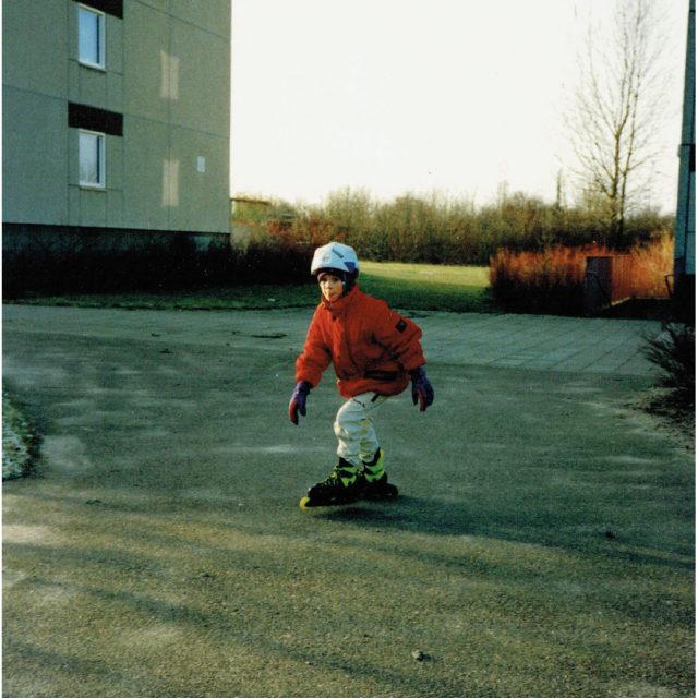 Magnus hakade tidigt på trenden med inlines på 90-talet.
