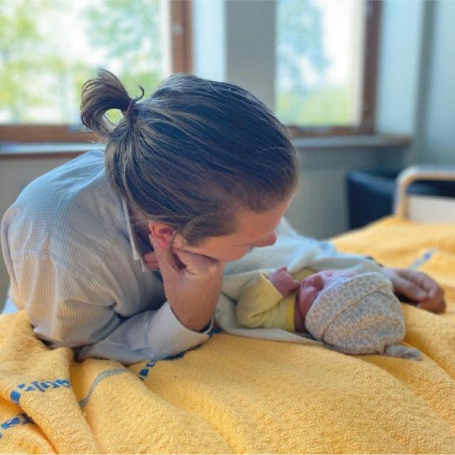 Fredagen den 21 maj föddes Magnus och Kina Liungmans dotter.