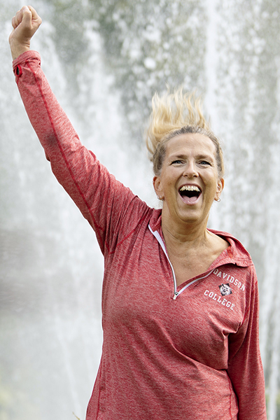 Annelie Czerapowicz, wellness coach på Viktväktarna. Foto: Anna Rehnberg
