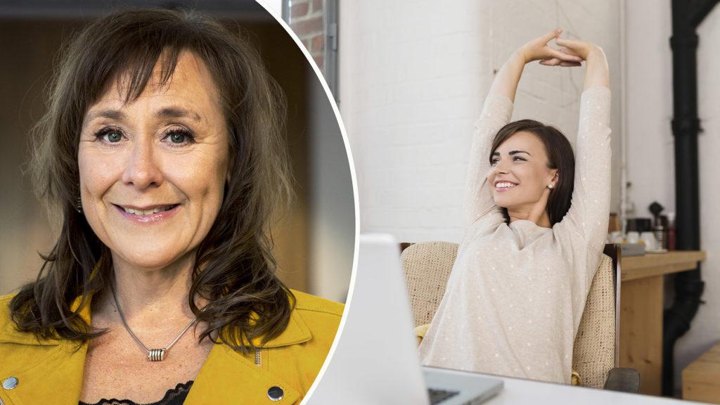 Helena Martini, HR-chef på fastighetsbolaget Atrium Ljungberg, ser hälsokontroller för medarbetare som en investering. Foto: Christoffer Edling