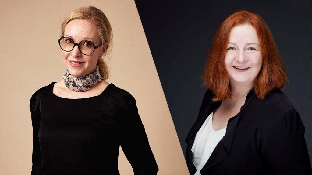 Charlotte Forssander och Lena Lid Falkman