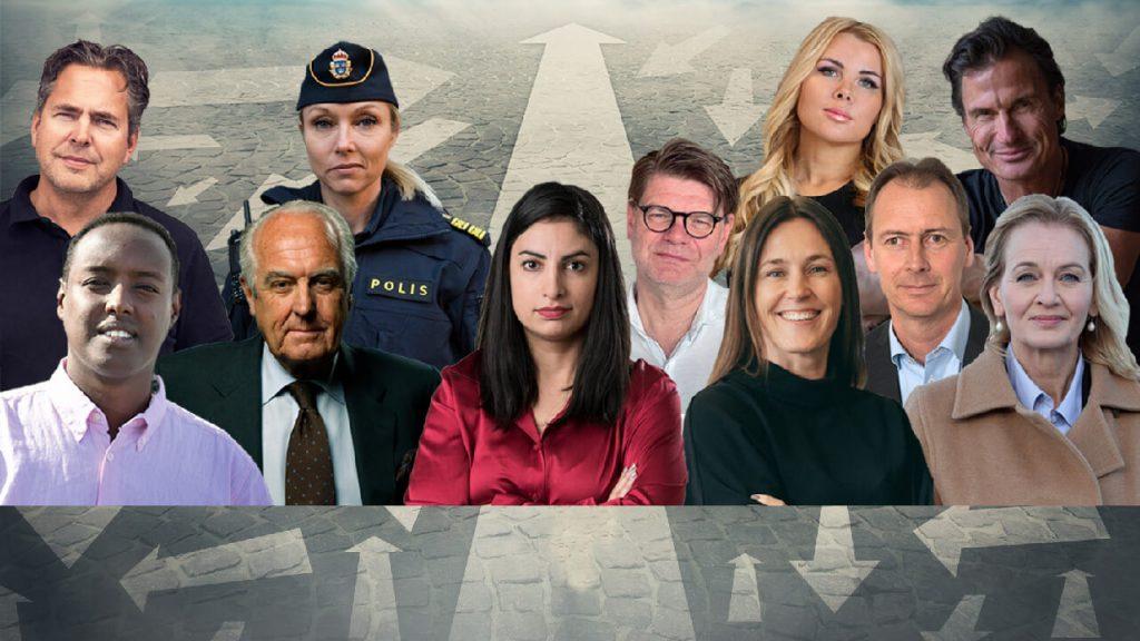 Bild på de de elva toppcheferna i artikeln.