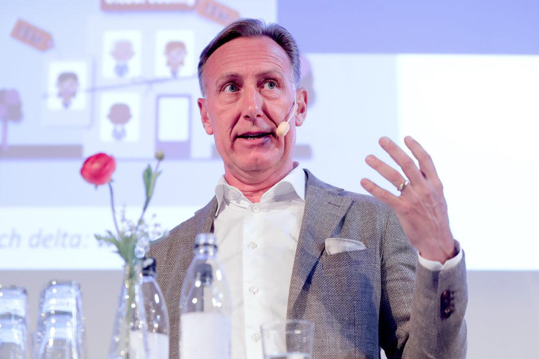 Jan-Olof Jacke vd Svenskt Näringsliv på Chefs scen i Almedalen 2018