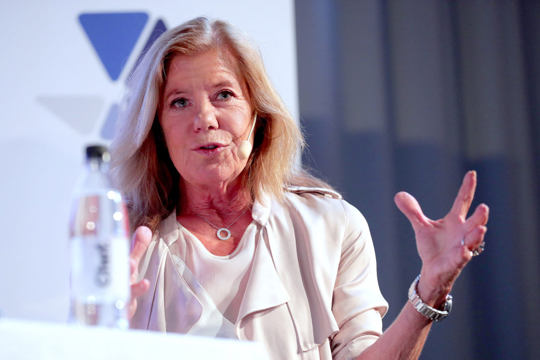 Lena Apler på Chefs scen i Almedalen 2018